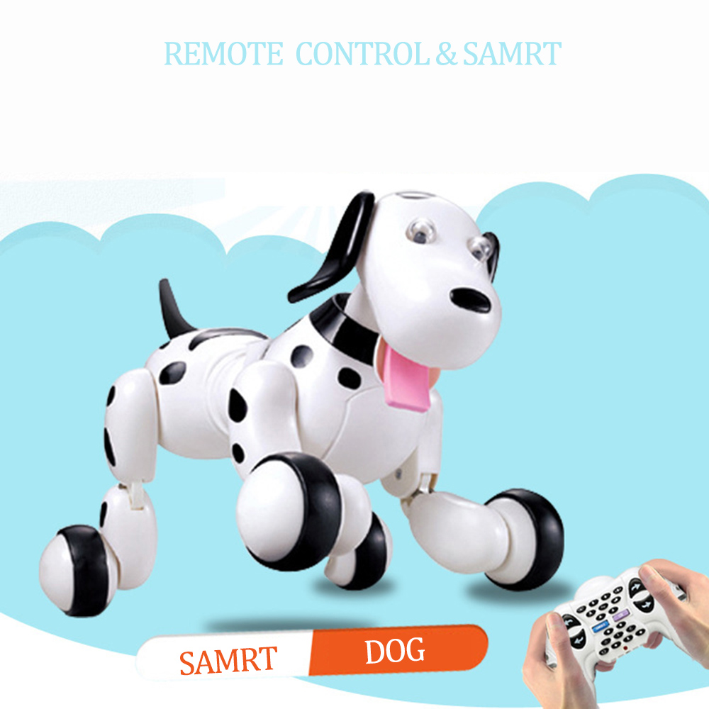 777-338 Birthday Gift RC Animals Toys 2.4G Remote Control Smart Dog Electronic Pet Educational Children's Toy Dancing Robot Dog pet safe electronic shock vibrating dog training collar with remote control 2 x aaa 1 x 6f22 9v