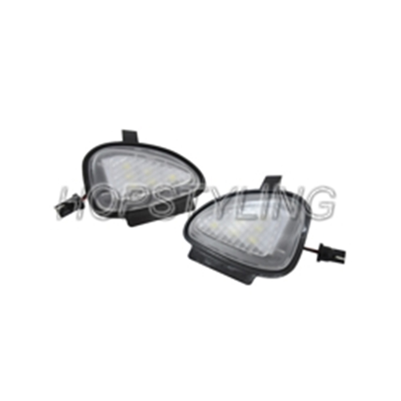 Car styling 2x LED white Side Under Mirror light For Touran 2010~ Golf Cabriolet 2012~