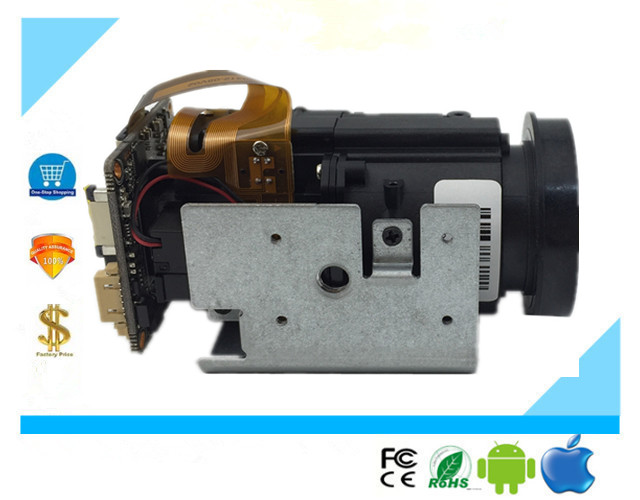 18X Auto Focus Zoom 5 85 93 6mm 1080P H 265 IP Camera Box Module 3516E