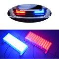 2*48 96 LED Strobe Luz Intermitente de Advertencia de Emergencia La Labor Policial luces de 3 Modos Que Destellan Flash Amarillo Blanco Azul Ámbar Rojo lámpara