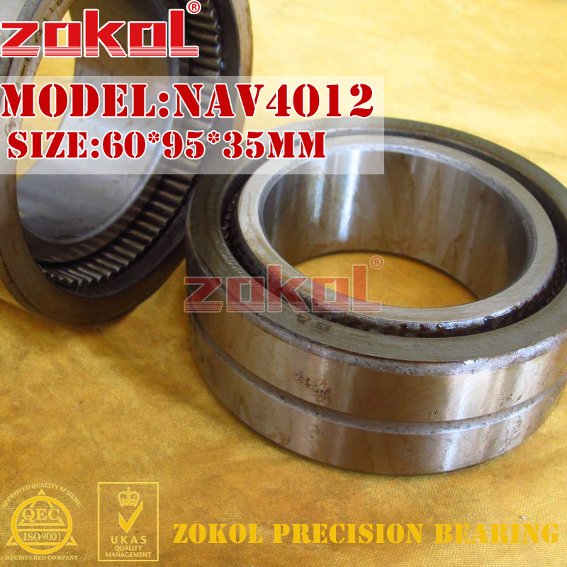 ZOKOL bearing NAV4012 Full bore needle roller bearing with inner ring 60*95*35mm