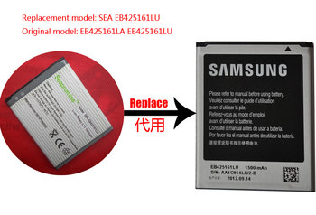Freeshipping 100PCS battery EB425161LU for Galaxy Ace II GT-I8160,T599,I739,GT-S7572, GT-I8190n,GT-S7560,GT-S7560M,GT-S7562 фото