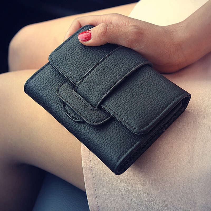 Women Wallet  Female 2018 Coin Purses Fashion European Style Credit Card Holder Money Wallets Purse   ST0101 red zolala fashion bags women leather hologram wallet style wallet female clutch purses long brand money purse credit card wallets
