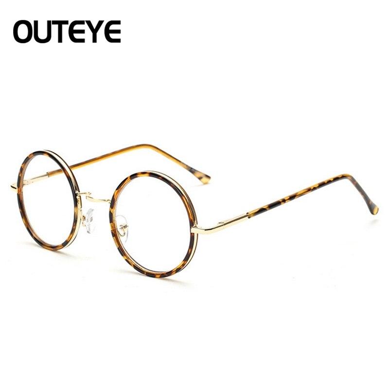 Outeye klassische retro klare linse nerd rahmen gläser mode marke ...