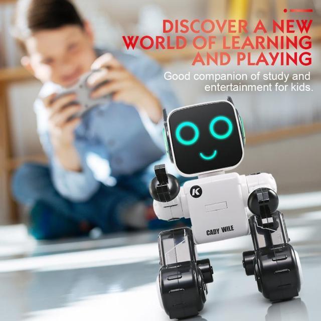 Rc Robot Intelligent Programming Remote Control Robotics Toy Biped