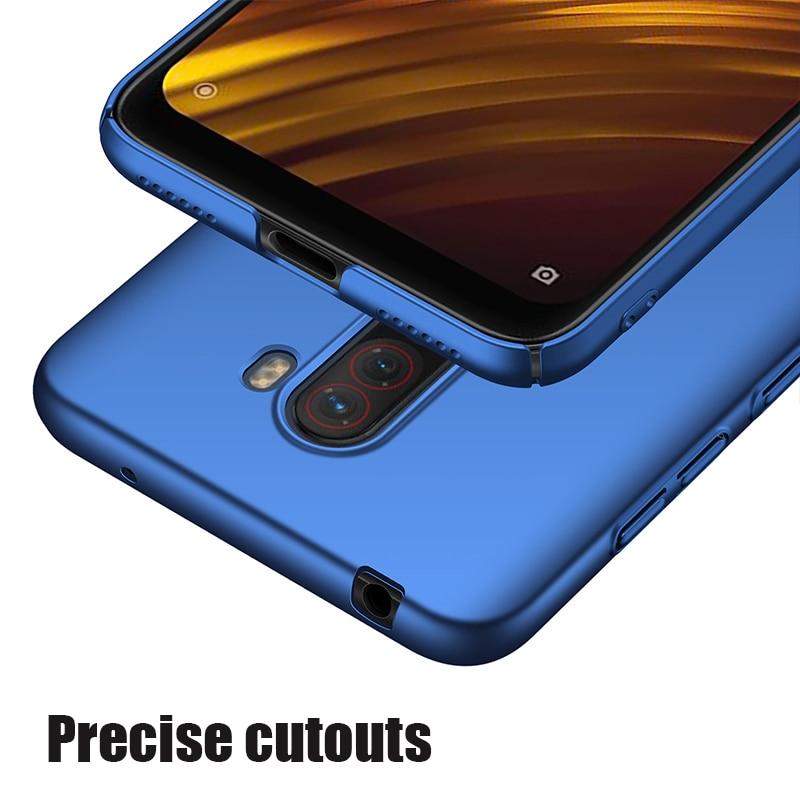For-Xiaomi-Pocophone-F1-Case-Hard-Matte-Back-Cover-Pocofone-Poco-F1-Slim-Shockproof-Skin-Single (5)