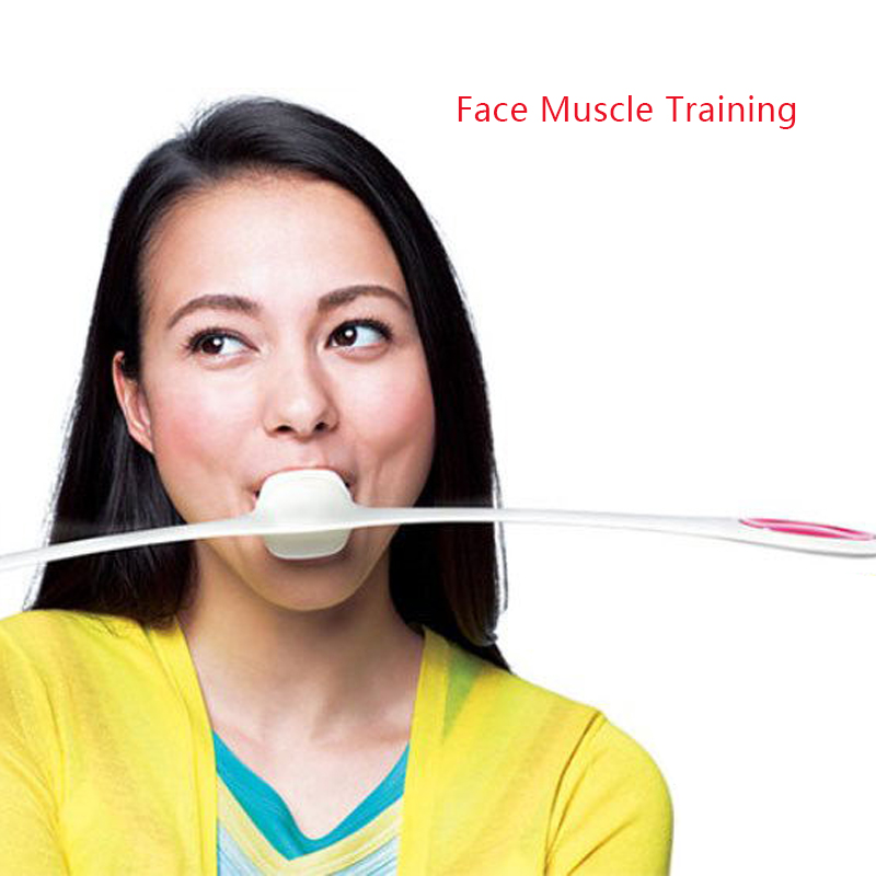 Facial Fitness Massage Tool Muscles Training Wand Anti Age Wrinkles Massager Smile Exercise Tools Face Yoga Face Lift