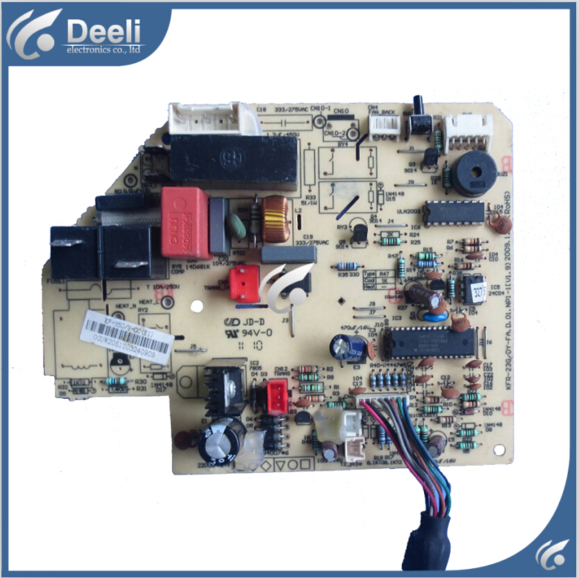 95% new used Original for Midea air conditioning board Frequency Board KFR-35G/DY-GC (E1) circuit board original lcd 40z120a runtka720wjqz jsi 401403a almost new used disassemble
