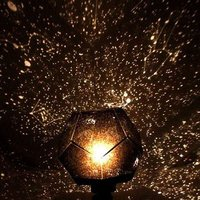 LumiParty New Fashion Romantic Astro Star Sky Projection Cosmos Night Light Lamp DIY For Christmas Home