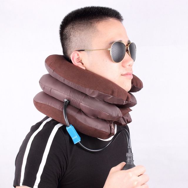 Inflatable Air Cervical Neck Traction Spinal Soft Back