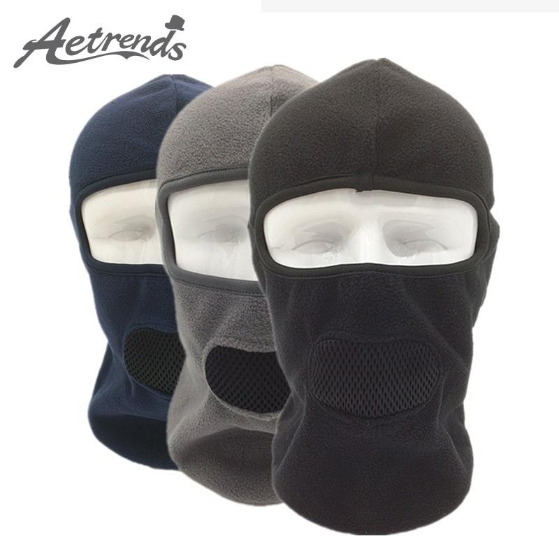 [AETRENDS] Winter Fleece Balaclava Breathable with Mash Mouth Full Face Mask Cycling Masks Hoods Hats Z-3981A capture totale восстанавливающий питательный крем для рук