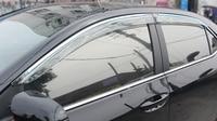 For Toyota Corolla E170 Sedan 2013 2014 2015 2016 2017 Window Visor Rain Sun Shield Guard Deflector Trim 4pcs Car Styling