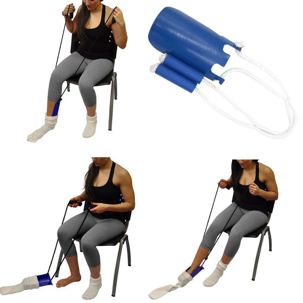 Kenntnisreich Einstellbare Länge Socke Dressing Unterstützen Aids Gerät Helfer Für Ältere Senior Schwangere Patienten Betreuer Mit Schaum Griff Anziehhilfen Schönheit & Gesundheit