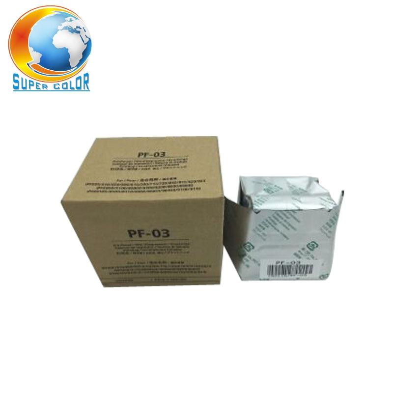 Original New Printhead PF-03 for Canon IPF 5000 6000 5100 6100 8010S 8000 8000S 700 710 610 600 9010S 9110 9000S printer head original best price ipf printer pf 03 print head for canon ipf5000 5100 6000s 6100 6200