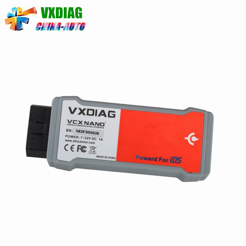 Newest VXDIAG VCX NANO for Fd/Mzd  with IDS V100 V98 Latest Version Free shipping saman damavandi novel titanium iv catalysts for olefin polymerization
