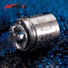 Original 5pcs WOTOFO Flow Subtank Coil 0.25ohm Coil Head for Flow Subtank Atomizer Premium Flavor E-cigarette Coil Spare Part