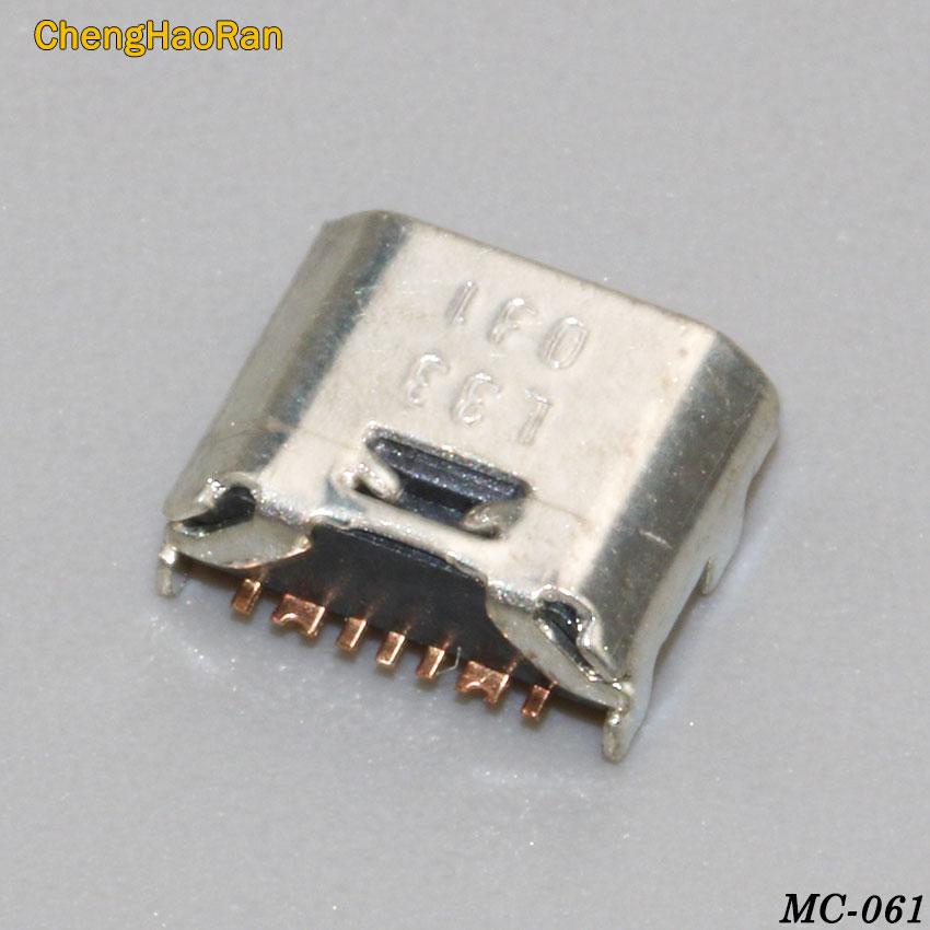 ChengHaoRan 5pcs 7 PIN Micro Usb Charge Charging Jack Connector Plug Dock Socket Port For Samsung I9082 I9080 I879 I8552 I869