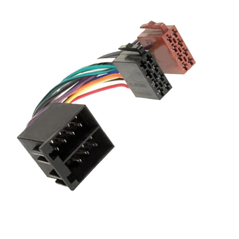 us $9 39 6% off new iso auto stereo car radio wiring harness cable lead adaptor for alfa romeo spider alfa saab renault clio laguna megane smart in honda radio harness saab radio wire harness #8