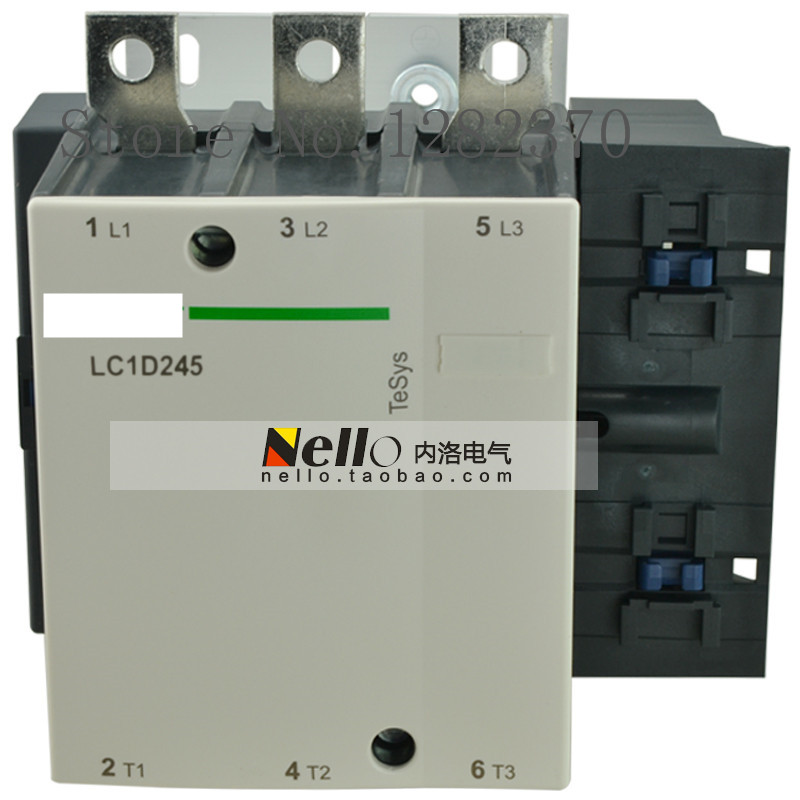 [ZOB] Authentic original contactor AC contactor LC1D245F7C/Q7C/C7C/M7C/B7C/E7C AC24V/36V/48V/110V/220V/380V load 132KW