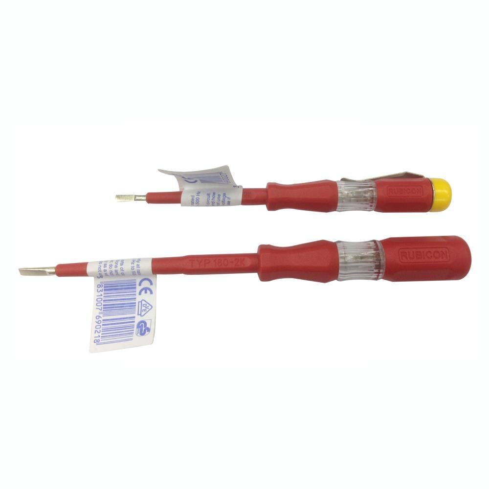2 шт. Rubicon Электрический карандашом Электрический тестер карандаш инспекции 150-250V Напряжение обнаружения RVT-211 RVT-212 RVT-111 RVT-112