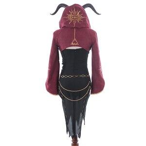 Image 5 - 게임 정체성 V 코스프레 의상 희생 피오나 길먼 코스프레 의상 할로윈 크리스마스 파티 마녀 여성 맞춤형