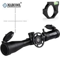 MARCOOL страйкбол винтовка оптика 4,5-18X44 SF прицел крепление Охота прицел для наружного охоты