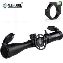 MARCOOL ALT 4.5-18X44 SFL Riflescope MAR-026 Reticle Optic Sight Free With 44MM Killflash Big side Wheel Sunshade and ring mount