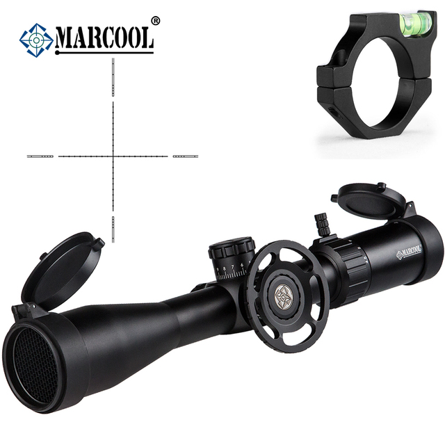 MARCOOL Airsoft Rifle Optics 4.5-18X44 SF Scope Mount Hunting Riflescope For Outdoor Hunting