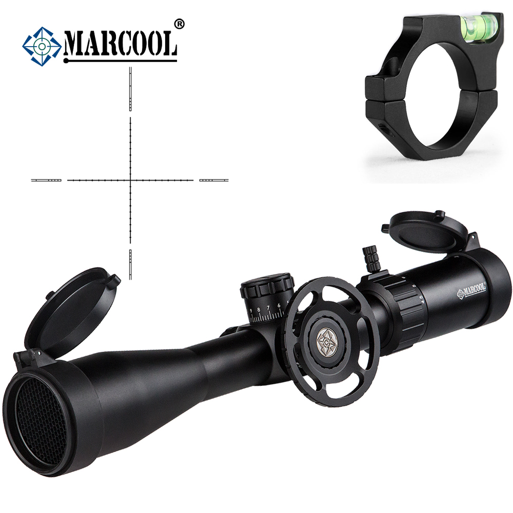 MARCOOL Airsoft fusil optique 4.5-18X44 SF portée monture chasse lunette de visée pour la chasse en plein air