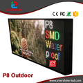New ! Front Open Beautiful Shop LED Sign for Video + Animation + Graphics + Text + Temperature Message Board