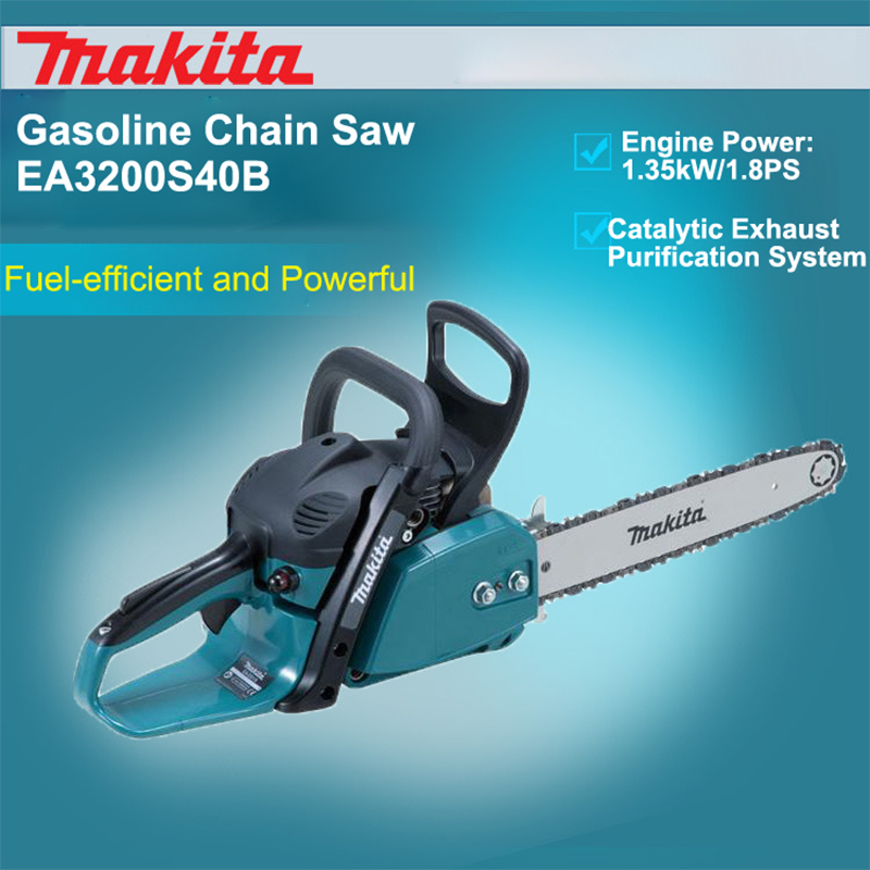 Japan Makita Petrol Chain Saw EA3200S40B Chainsaw Logging Saws Woodworking Chain Saw Displacement: 32mL 1.35kW/1.8PS chauvet pro dmx5f3m dmx adapter