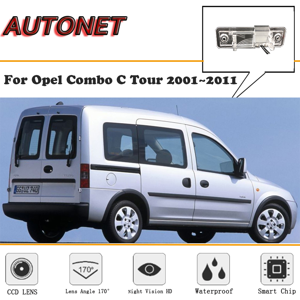 AUTONET Rear View Camera For Opel Combo C Tour 2001~2011 CCD/Night Vision/Reverse Camera/Backup Camera/license Plate Camera