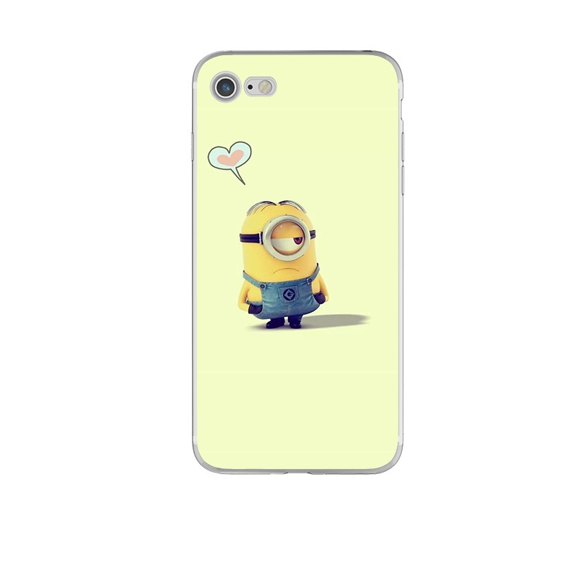 Funny Despicable Me Transparent Phone Cases for iPhone