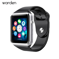 Bluetooth Connectivity Smart Watch Sport Pedometer Men Wristwatch Camera SIM Card Touch Smartwatch For IOS Android