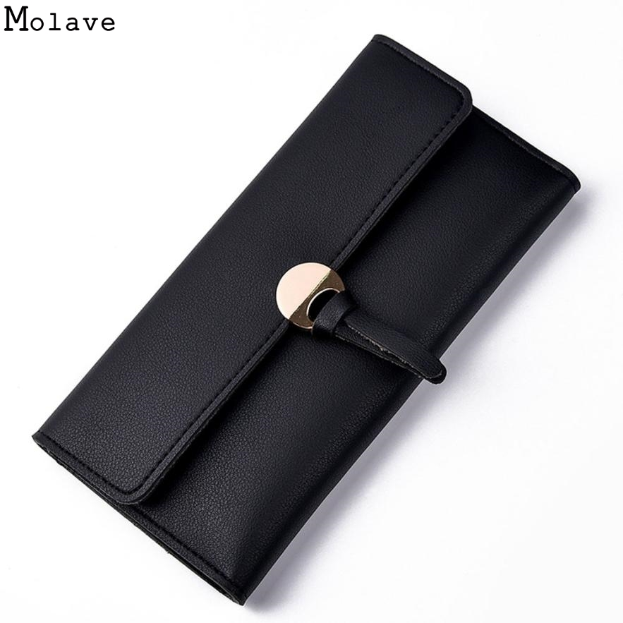 2017 Women wallets High-quality PU Leather Wallet Women Long Style Female Purse Brand Capacity Clutch Card Holder Pouch D35JL13