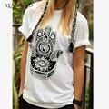 Retro Tops Women Vintage Casual T-shirt Harajuku T shirt Tees Street Wear WMT29