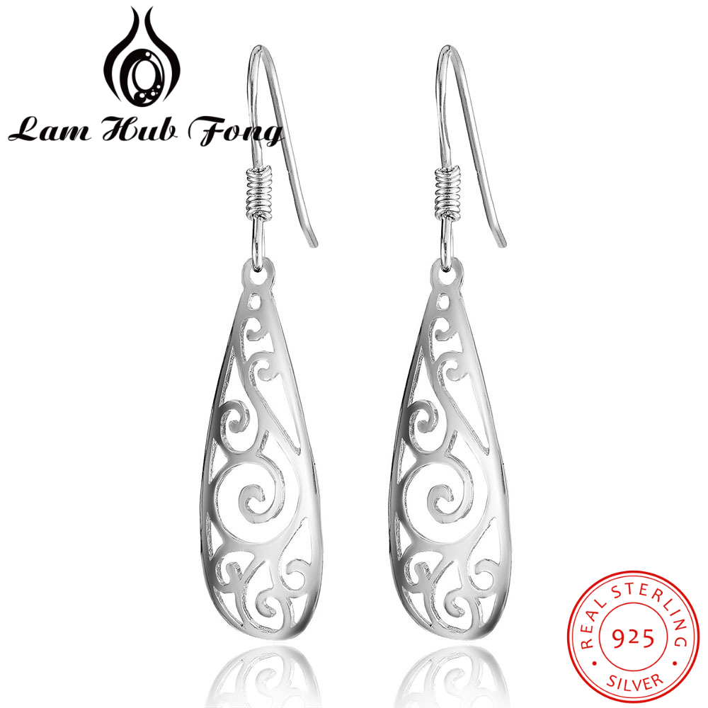 Earring Jewelry 925-Sterling-Silver Vintage Women Fashion Femal No for Bijouterie Knot