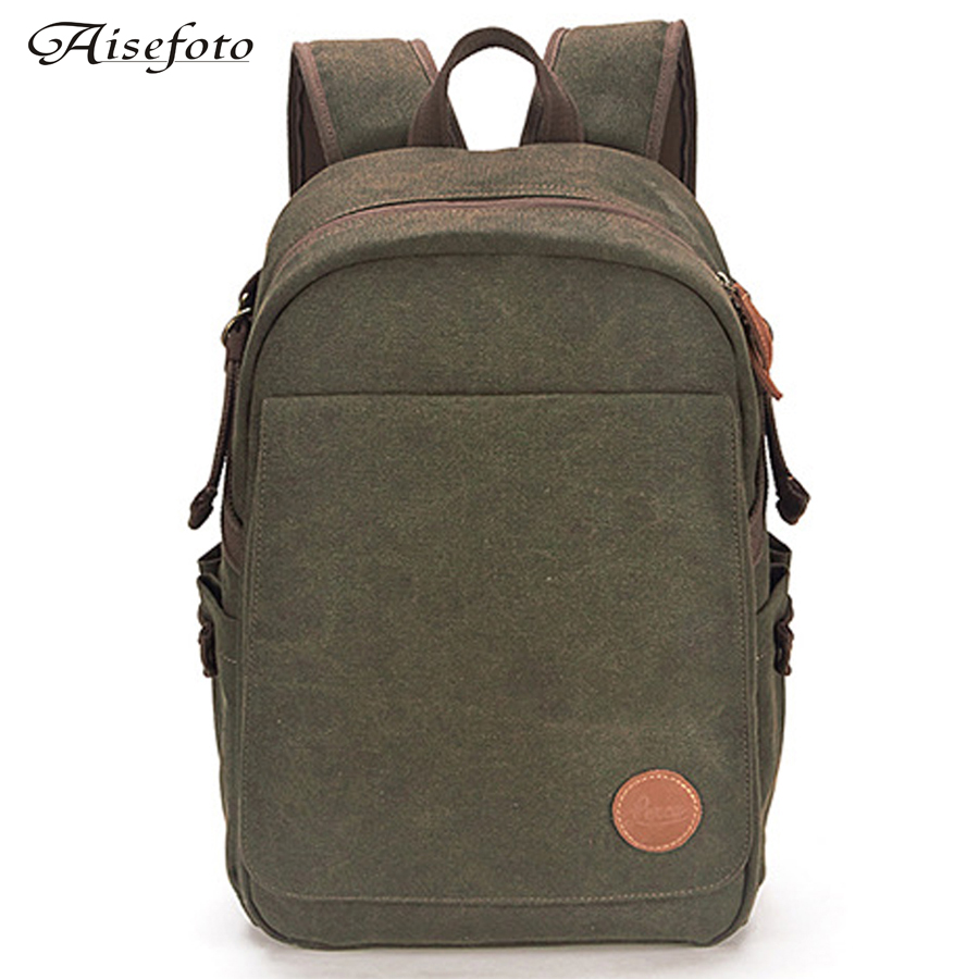 ФОТО Latest outdoor waterproof backpacks canvas SLR camera bag for Canon / Nikon professional SLR camera bag digital camera backpack