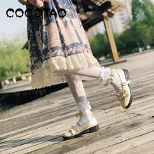 Western Style Girl Bowknot Small Leather Shoes Female 2019 New Han Edition Of The Fashion Leisure Tie-in Dress Sandals 30