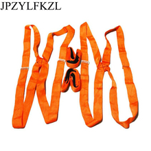 JPZYLFKZL New Useful Lifting Moving Strap Furniture Transport Belt Team Straps Mover Easier Conveying Belt For Carry Furniture 2x forearm lifting moving strap furniture transport belt easier carry rope cheap price retail forearm forklift lifting moving