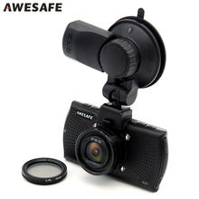 On sale AWESAFE Ambarella A7LA70 Car DVR Camera GPS with Speedcam for Russia 1296P Full HD 1080p 60Fps Video Recorder Registrar Dash Cam