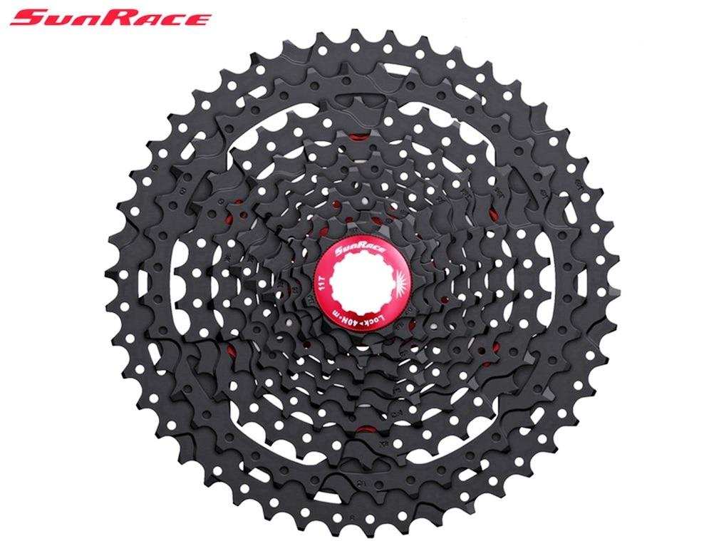 SunRace 10 Speed CSMX3 11 46T Wide Ratio mtb bicycle bike free wheel Cassette Mountain Bike