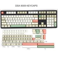 PBT DSA 9009 Keycap Set dye subbed keycaps