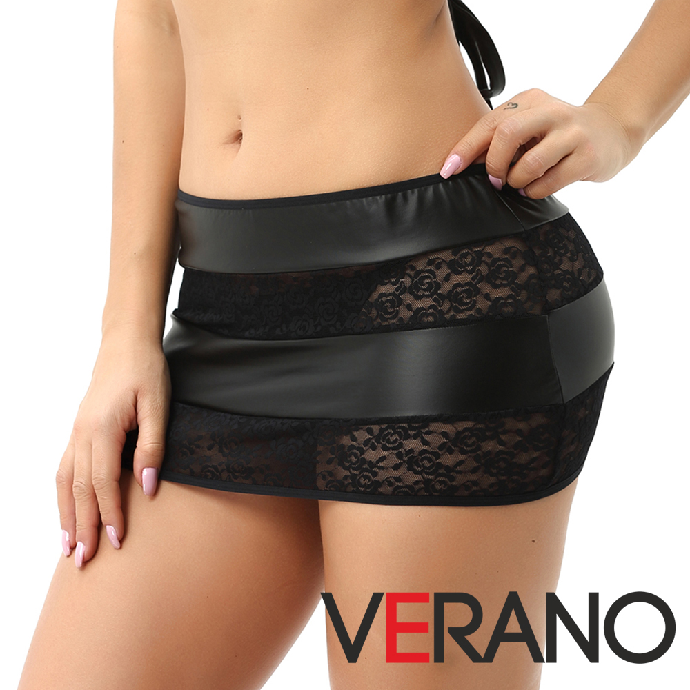 Sexy Lace Women Faux Leather Skirt Mini Skirt Plus Size Skirts Womens Above Knee Lace Shirt Mini Pencil Skirt