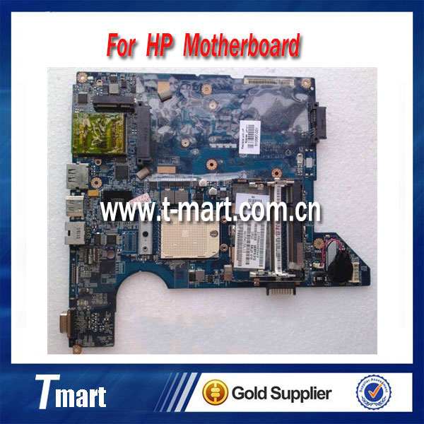 ФОТО 510567-001 For HP CQ40 Laptop motherboard for LA-4111P Integrated DDR2 origianl and work well full tested