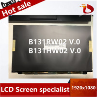 Free shipping A+ B131HW02 v.0 v0 LT131EE11000 13.1 LCD screen display for SONY VAIO VPC Z 1920*1080 HD Matrix display