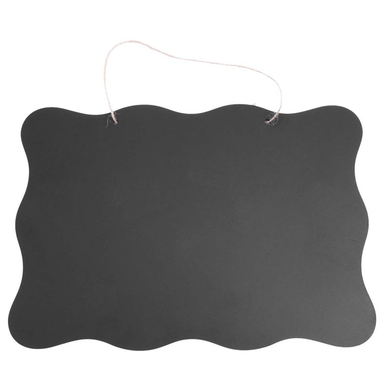 Double Sided Vintage Style Chalkboard BlackBoard With Hanging String