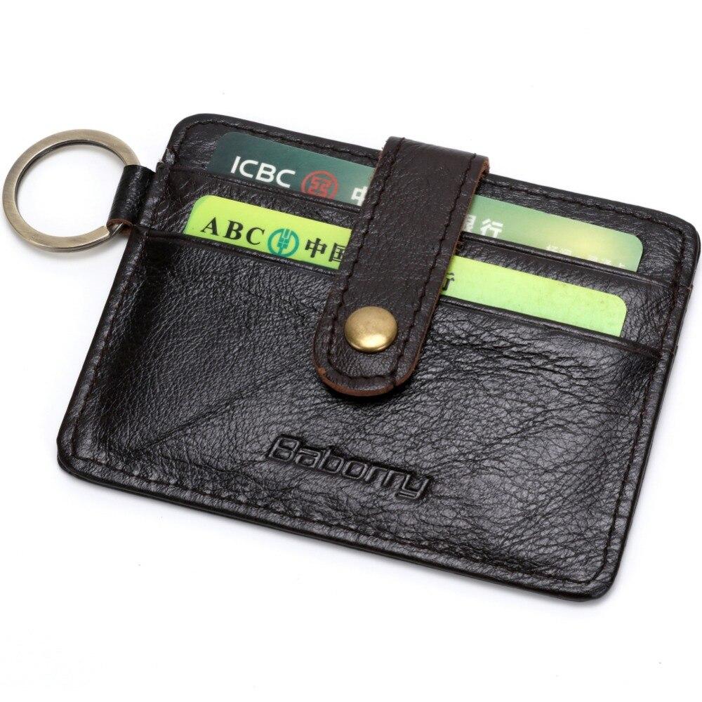 New Design RFID Theft Protect Wallets Mens Wallet Leather Genuine Money Bag Card Holder Purses Wallets for Men RFID Blocking