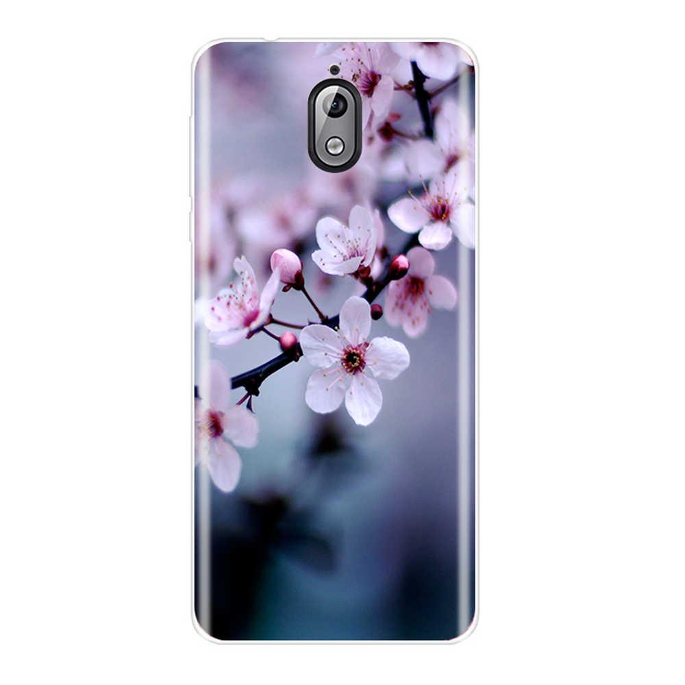 الأزياء المطبوعة جراب هاتف لنوكيا 7.1 6.1 5.1 3.1 2.1 لينة TPU سيليكون ل نوكيا 7.1 6.1 5.1 3.1 2.1 زائد الغطاء الخلفي