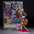 28 cm de uma peça ONEPIECE Tony Tony Chopper PVC Action Figure modelo brinquedos bonecas colecionáveis Anime caricatura presente de natal